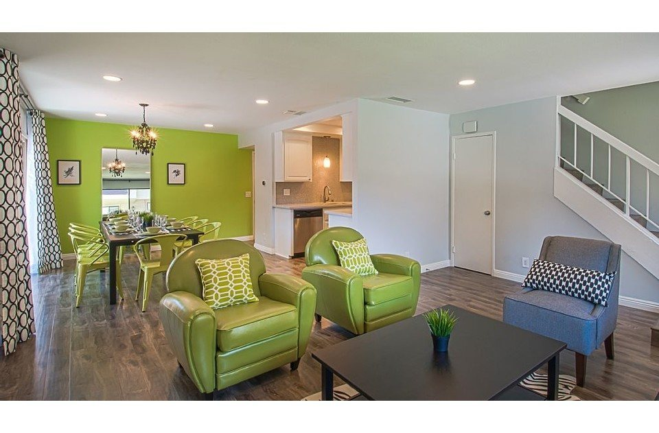 Open floor plan allows the whole family to be together in one space