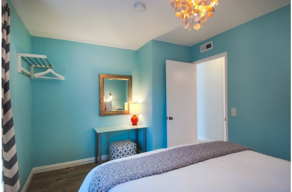 Queen room with luxurious linens & BeautyRest mattress. A lovely place to relax!